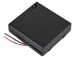 PRO POWER PP002106  Battery Box, 4X Aa, Switched, Wired